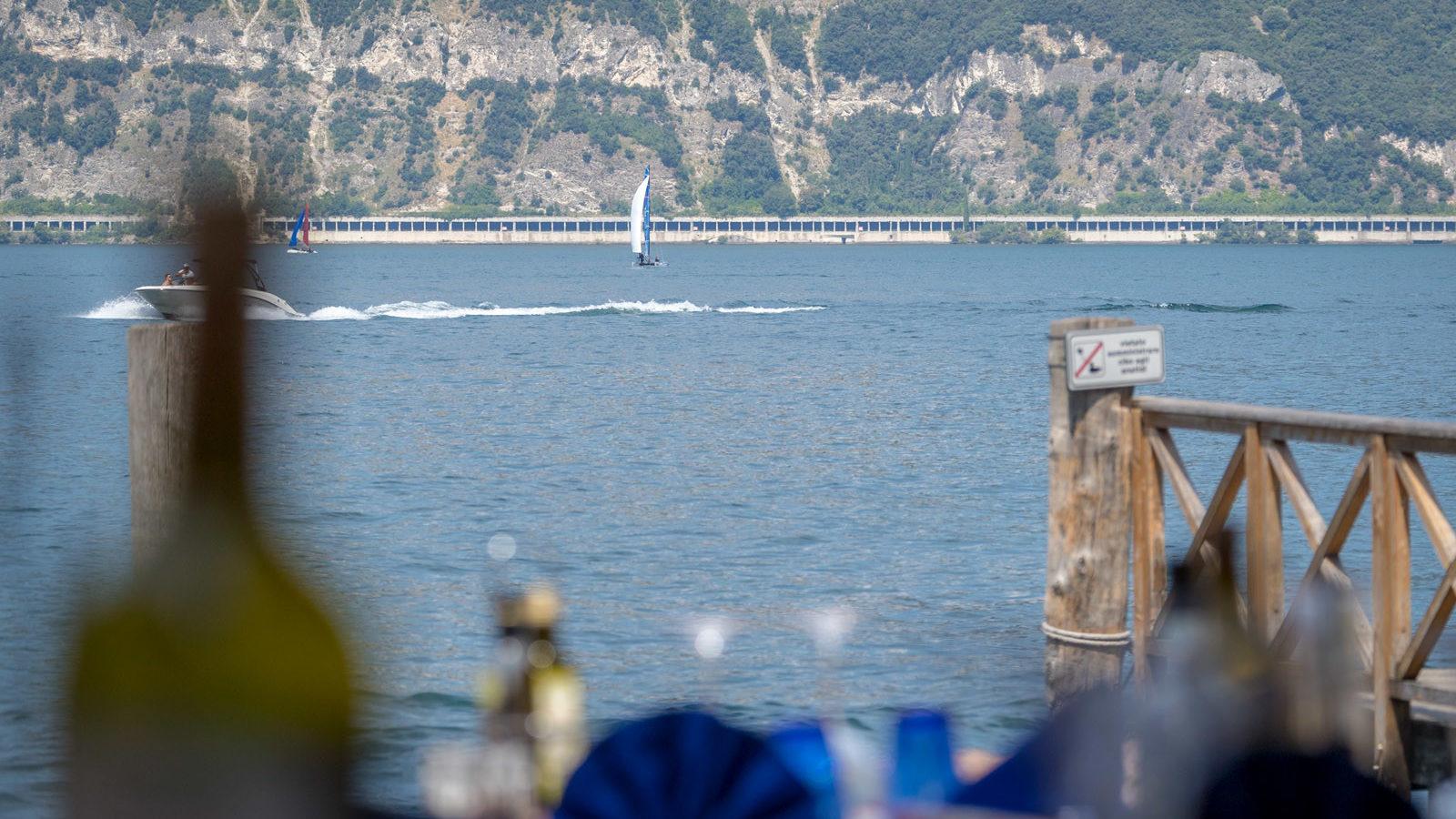 Bar Pizzeria Ristorante La Pace Malcesine al porto vecchio sul lago di Garda